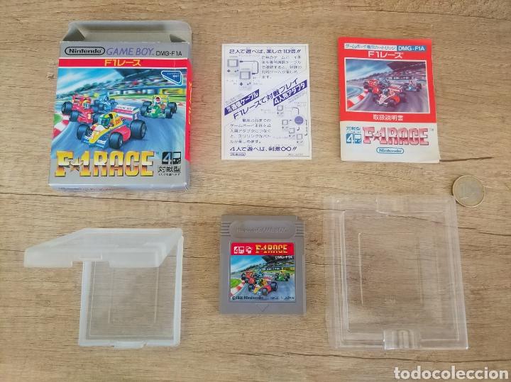 Videojuegos y Consolas: Juego Nintendo GameBoy F-1 RACE Original y Completo. Año: 1990 - Foto 12 - 207943591