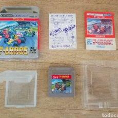 Videojuegos y Consolas: JUEGO NINTENDO GAMEBOY F-1 RACE ORIGINAL Y COMPLETO. AÑO: 1990. Lote 207943591