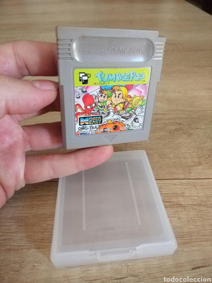 Videojuegos y Consolas: Cartucho original Nintendo GameBoy TUMBLEPOP. Año 1991 - Foto 2 - 208840920