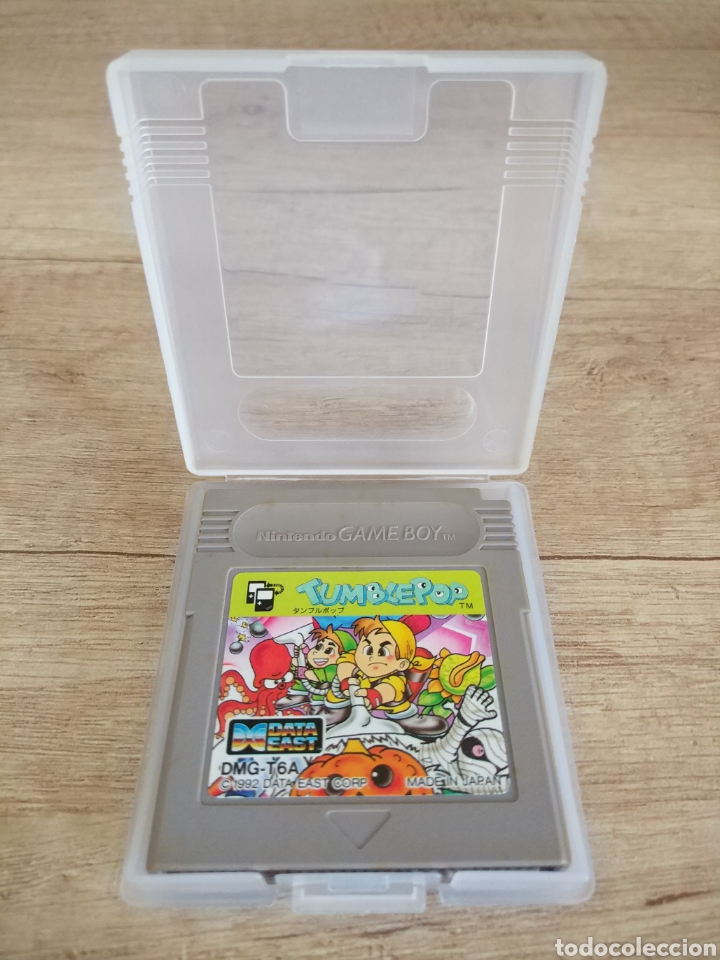 Videojuegos y Consolas: Cartucho original Nintendo GameBoy TUMBLEPOP. Año 1991 - Foto 3 - 208840920