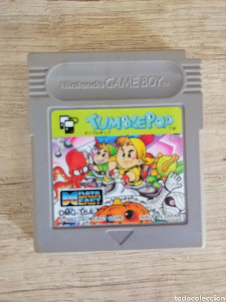 Videojuegos y Consolas: Cartucho original Nintendo GameBoy TUMBLEPOP. Año 1991 - Foto 5 - 208840920