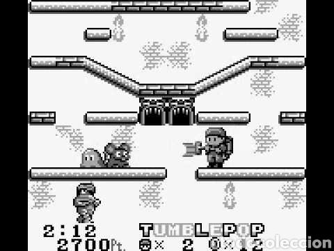 Videojuegos y Consolas: Cartucho original Nintendo GameBoy TUMBLEPOP. Año 1991 - Foto 11 - 208840920