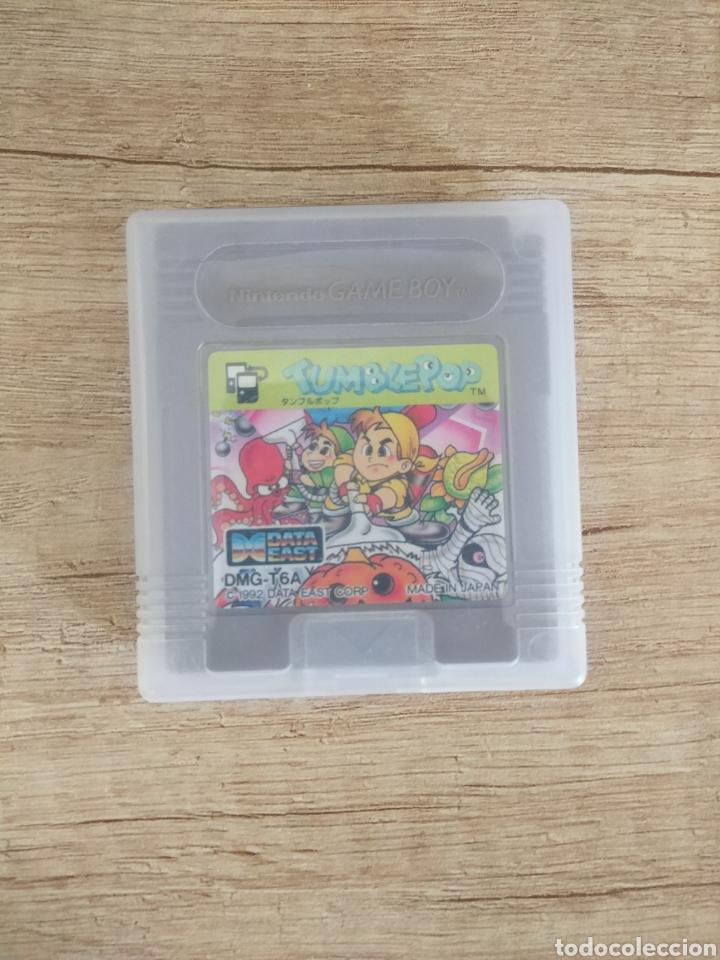 Videojuegos y Consolas: Cartucho original Nintendo GameBoy TUMBLEPOP. Año 1991 - Foto 12 - 208840920