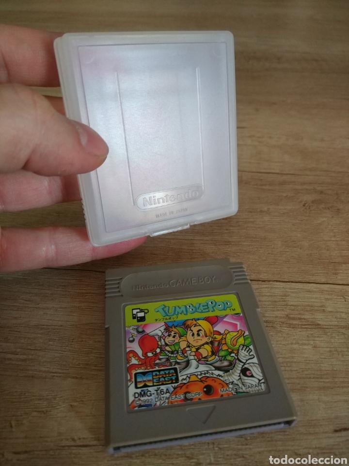 Videojuegos y Consolas: Cartucho original Nintendo GameBoy TUMBLEPOP. Año 1991 - Foto 13 - 208840920