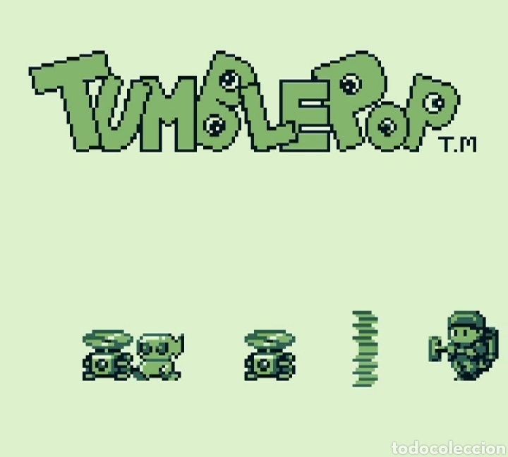 CARTUCHO ORIGINAL NINTENDO GAMEBOY TUMBLEPOP. AÑO 1991 (Juguetes - Videojuegos y Consolas - Nintendo - GameBoy)