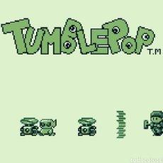 Videojuegos y Consolas: CARTUCHO ORIGINAL NINTENDO GAMEBOY TUMBLEPOP. AÑO 1991. Lote 208840920
