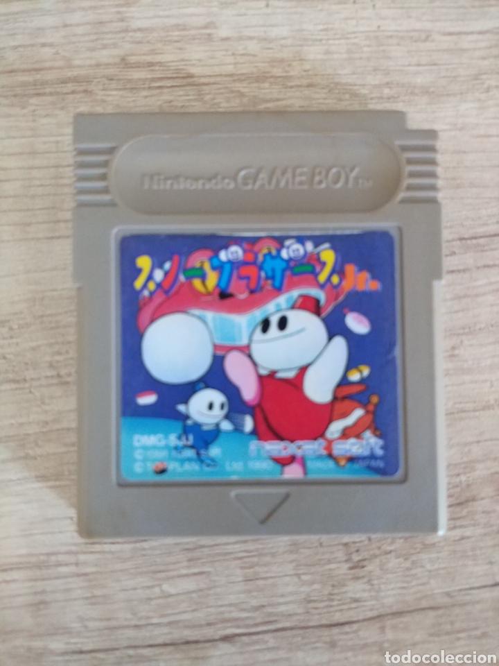 Videojuegos y Consolas: Cartucho original Nintendo GameBoy SNOW BROS. Año 1990 - Foto 3 - 208842082