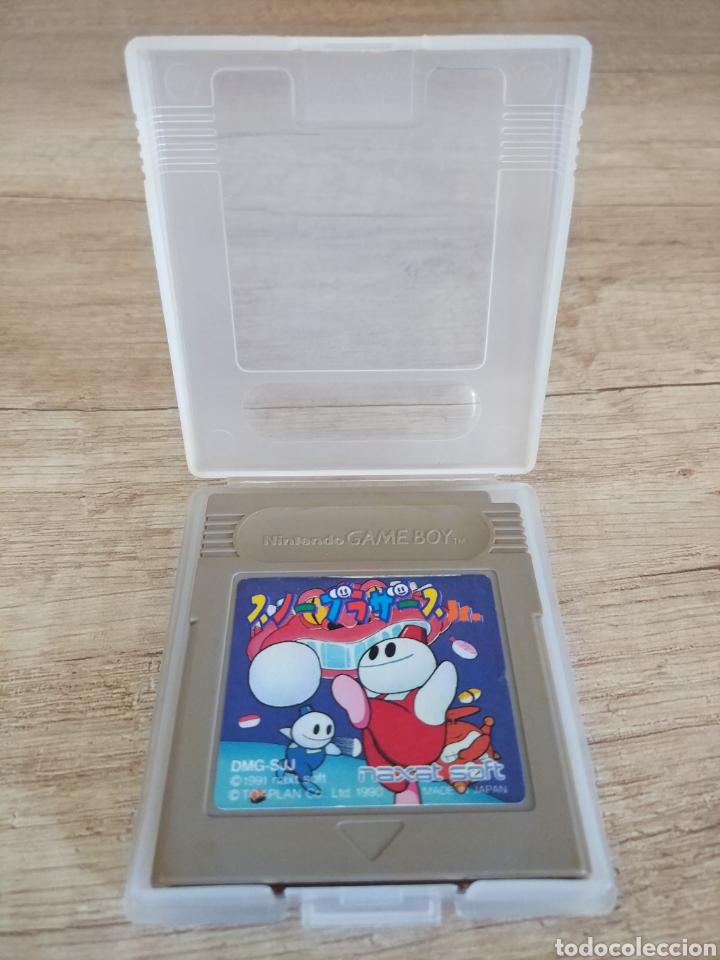 Videojuegos y Consolas: Cartucho original Nintendo GameBoy SNOW BROS. Año 1990 - Foto 5 - 208842082