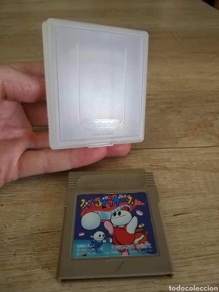 Videojuegos y Consolas: Cartucho original Nintendo GameBoy SNOW BROS. Año 1990 - Foto 12 - 208842082