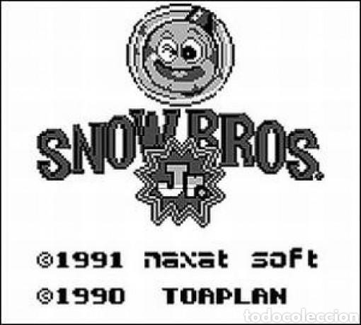 Videojuegos y Consolas: Cartucho original Nintendo GameBoy SNOW BROS. Año 1990 - Foto 2 - 208842082