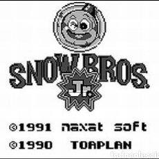 Videojuegos y Consolas: CARTUCHO ORIGINAL NINTENDO GAMEBOY SNOW BROS. AÑO 1990. Lote 208842082