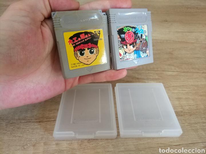 LOTE CARTUCHOS ORIGINAL NINTENDO GAMEBOY 2 X HAMMERIN HARRY. AÑO 1992 (Juguetes - Videojuegos y Consolas - Nintendo - GameBoy)