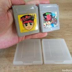 Videojuegos y Consolas: LOTE CARTUCHOS ORIGINAL NINTENDO GAMEBOY 2 X HAMMERIN HARRY. AÑO 1992. Lote 208844665