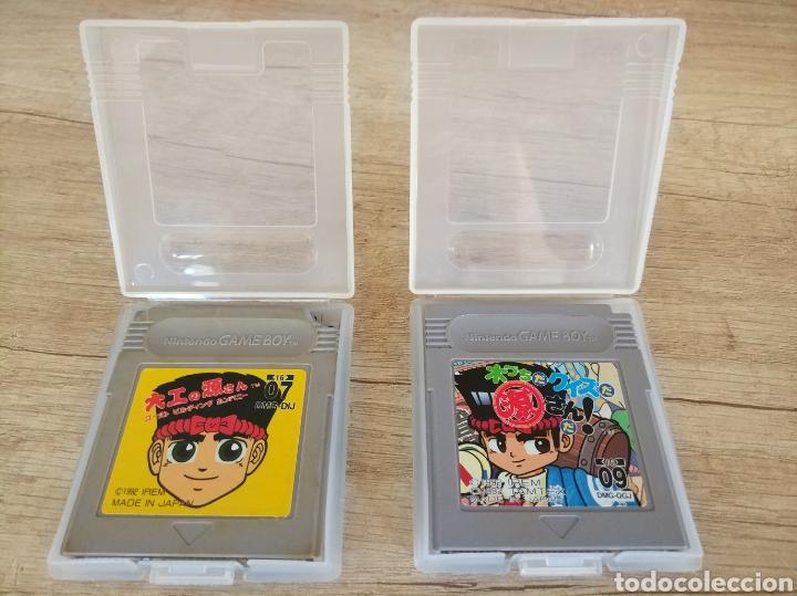 Videojuegos y Consolas: Lote Cartuchos original Nintendo GameBoy 2 X HAMMERIN HARRY. Año 1992 - Foto 3 - 208844665