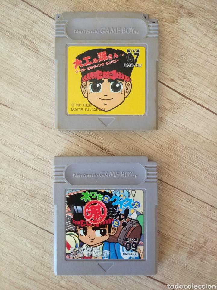 Videojuegos y Consolas: Lote Cartuchos original Nintendo GameBoy 2 X HAMMERIN HARRY. Año 1992 - Foto 10 - 208844665
