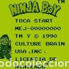 Videojuegos y Consolas: CARTUCHO ORIGINAL NINTENDO GAMEBOY SUPER NINJA BOY (SUPER CHINESE LAND). AÑO 1990. Lote 208851602