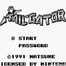 Videojuegos y Consolas: CARTUCHO ORIGINAL NINTENDO GAMEBOY TAIL GATOR. AÑO: 1991. Lote 208856122