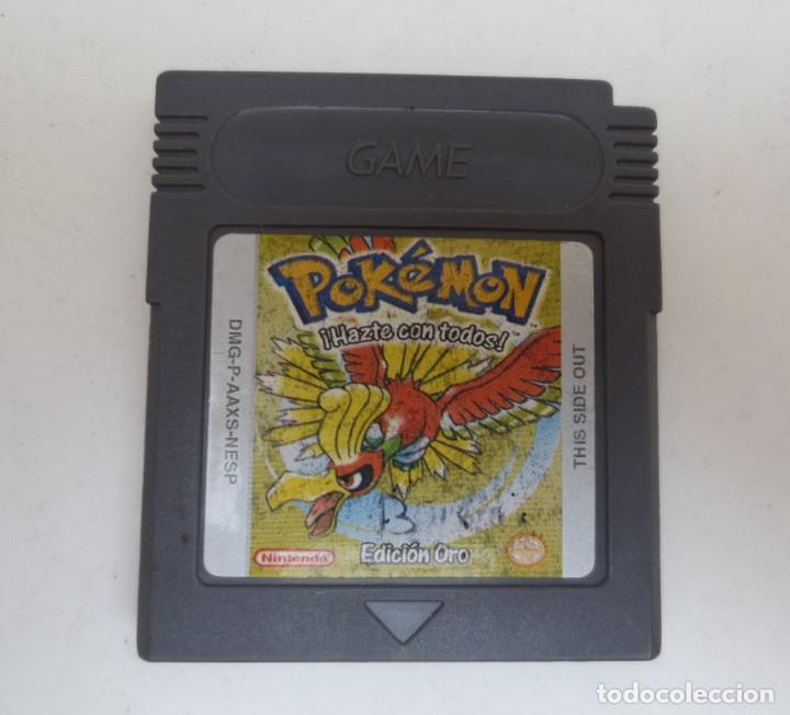 POKEMON - EDICION ORO - GAMEBOY - GAME BOY (Juguetes - Videojuegos y Consolas - Nintendo - GameBoy)