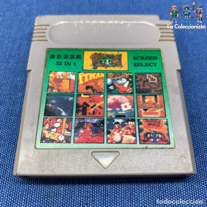 VIDEOJUEGO - NINTENDO GAME BOY - CARTUCHO CLÓNICO 32 IN 1 SCREEN SELECT (Juguetes - Videojuegos y Consolas - Nintendo - GameBoy)