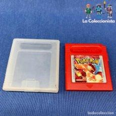 Jeux Vidéo et Consoles: VIDEOJUEGO - NINTENDO GAME BOY - POKÉMON EDICIÓN ROJO CARTUCHO + FUNDA. Lote 210023460