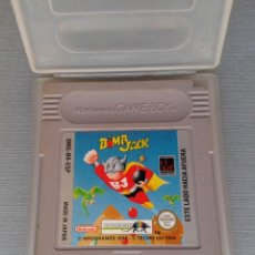 Videojuegos y Consolas: NINTENDO GAMEBOY BOMB JACK CARTUCHO + FUNDA PAL ESPAÑA RARO!! R11167. Lote 210639817
