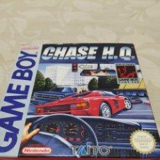 Videojuegos y Consolas: CHASE H.Q. GAME BOY NINTENDO SOLO CAJA Y MANUAL INSTRUCCIONES. Lote 210761490
