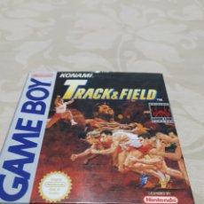 Videojuegos y Consolas: TRACK AND FIELD GAME BOY NINTENDO VERSIÓN ESPAÑA. Lote 210761729
