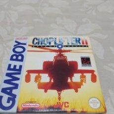 Videojuegos y Consolas: CHOPLIFTER II GAME BOY COMPLETO EXCELENTE ESTADO. Lote 210761847