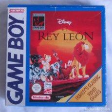 Videojuegos y Consolas: JUEGO GAME BOY REY LEÓN NINTENDO. Lote 210951711