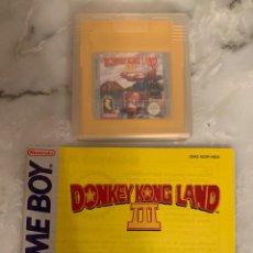 Videojuegos y Consolas: JUEGO GAMEBOY DONKEY KONG LAND 2. Lote 210957356