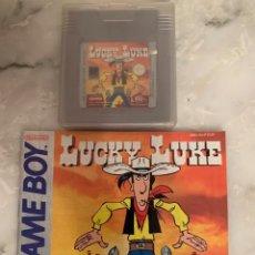 Videojuegos y Consolas: JUEGO GAMEBOY LUCKY LUKE. Lote 210957440