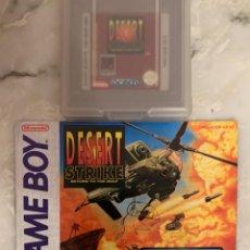 Videojuegos y Consolas: JUEGO GAMEBOY DESERT STRIKE. Lote 210957529