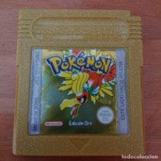 Videojuegos y Consolas: POKEMON EDICION ORO GAME BOY CARTUCHO. Lote 211826680
