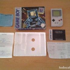 Videojuegos y Consolas: NINTENDO GAMEBOY ORIGINAL DMG-01 COMPLETA CON CAJA BOXED CIB VERSION ESPAÑOLA R11216. Lote 211853460