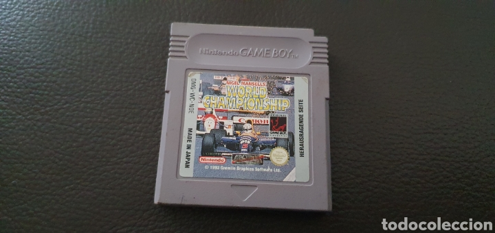 JUEGO NINTENDO GAMEBOY WORLD CHAMPIONSHIP NIGEL MANSELLS (Juguetes - Videojuegos y Consolas - Nintendo - GameBoy)