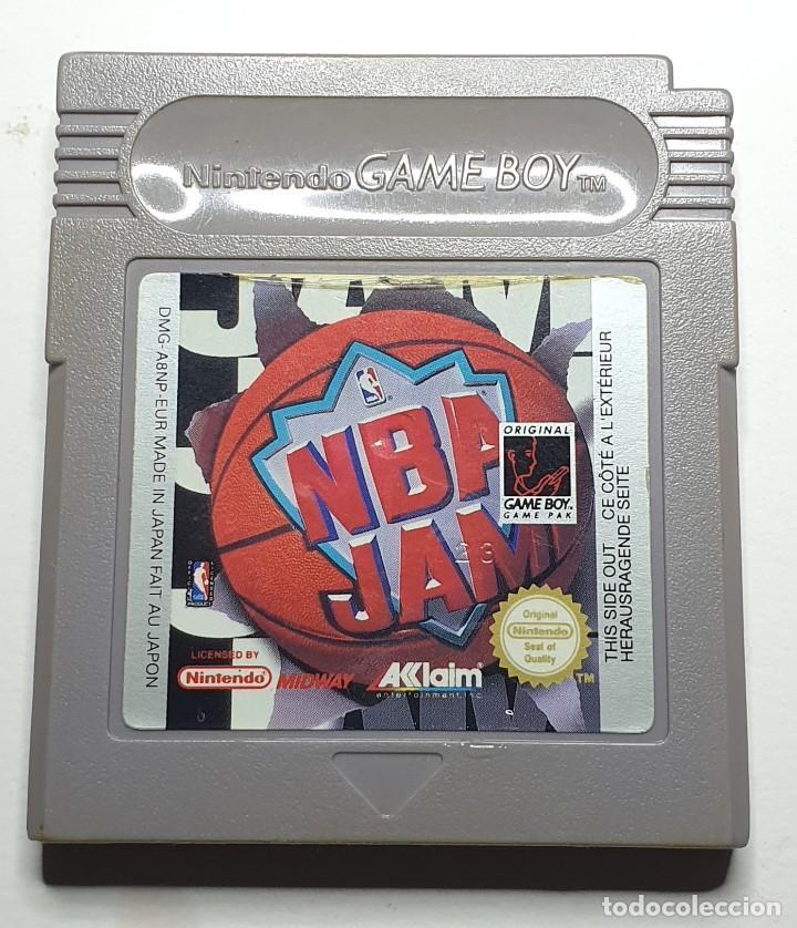 NBA JAM JUEGO NINTENDO GAME BOY (Juguetes - Videojuegos y Consolas - Nintendo - GameBoy)