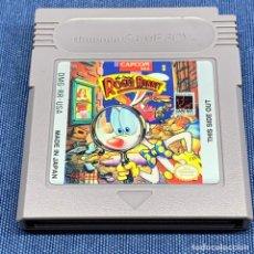 Videojuegos y Consolas: VIDEOJUEGO NINTENDO GAME BOY - ROGER RABBIT - MADE IN JAPAN - SOLO CARTUCHO. Lote 217010985