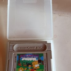 Videogiochi e Consoli: BART SIMPSONS, ESCAPE FROM CAMP DEADLY, SIEMPRE EN SU ESTUCHE.. Lote 217433798