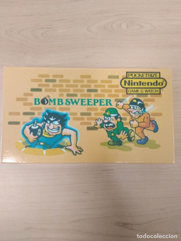 BOMB SWEEPER - GAME & WATCH NINTENDO CAJA REPRO (Juguetes - Videojuegos y Consolas - Nintendo - GameBoy)