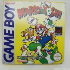 Videojuegos y Consolas: CAJA VACÍA DEL JUEGO DE GAME BOY MARIO Y YOSHI DE NINTENDO, AÑO 1992. Lote 217846618