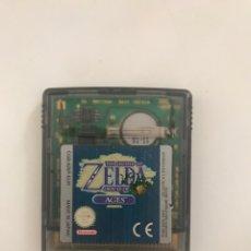 Videojuegos y Consolas: JUEGO GAMEBOY ZELDA ORACLE OF AGES GAME BOY. Lote 218289568