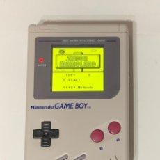 Videojuegos y Consolas: GAME BOY CLÁSICA REACONDICIONADA CON PANTALLA IPS. Lote 218995446