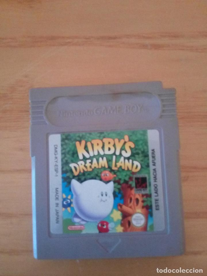KIRBY'S DREAM LAND NINTENDO GAME BOY (Juguetes - Videojuegos y Consolas - Nintendo - GameBoy)