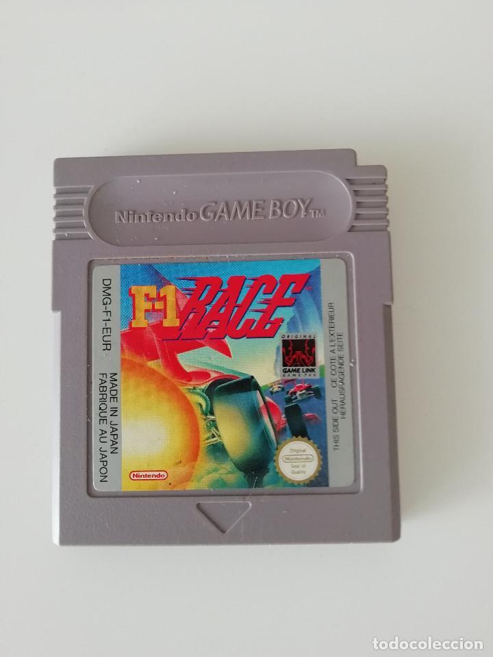 F1 RACE - NINTENDO GAME BOY (Juguetes - Videojuegos y Consolas - Nintendo - GameBoy)