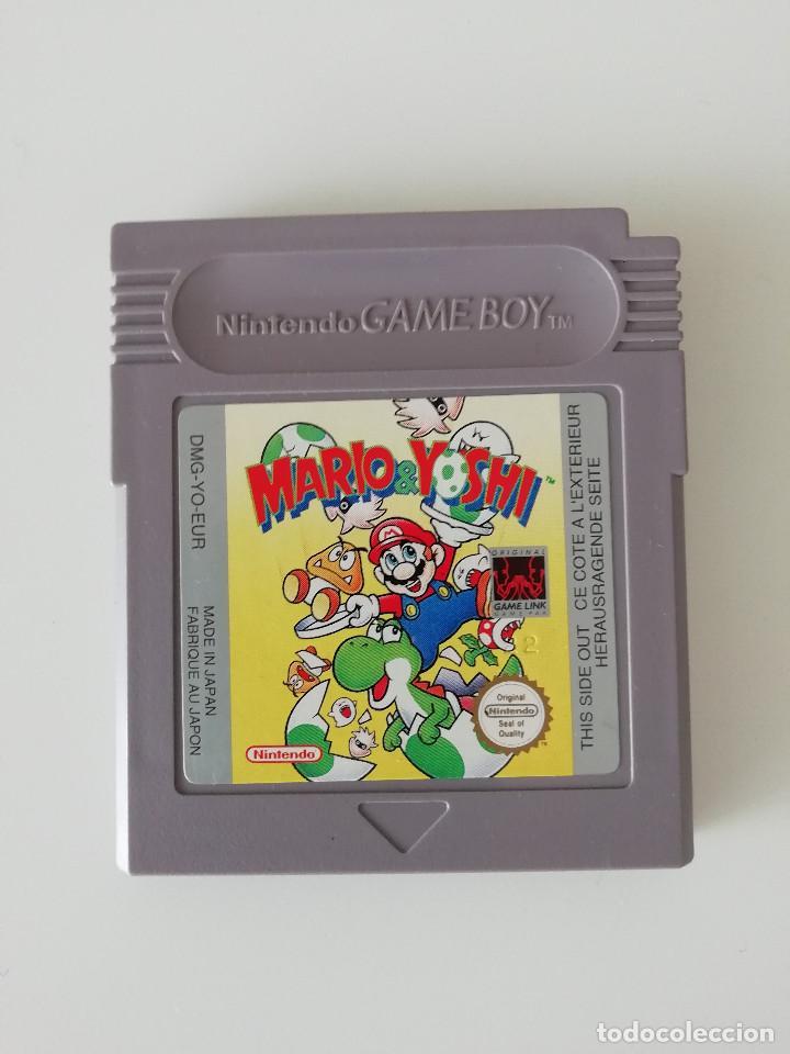 VIDEOJUEGO - MARIO & YOSHI - NINTENDO GAME BOY (Juguetes - Videojuegos y Consolas - Nintendo - GameBoy)