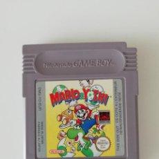 Videojuegos y Consolas: VIDEOJUEGO - MARIO & YOSHI - NINTENDO GAME BOY. Lote 220577522