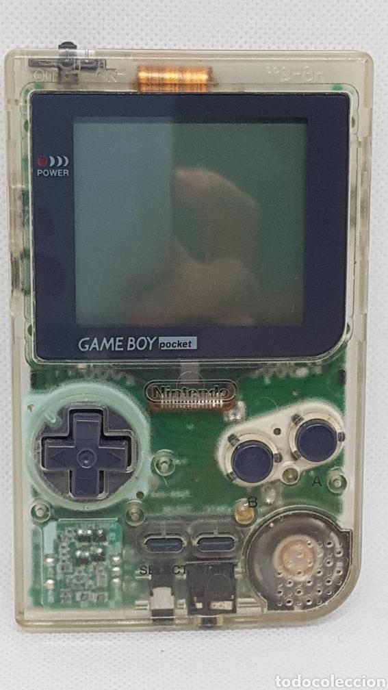CONSOLA NINTENDO GAME BOY POCKET TRANSPARENTE (Juguetes - Videojuegos y Consolas - Nintendo - GameBoy)