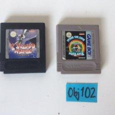 Videojuegos y Consolas: JUEGOS GAME BOY. Lote 221494948