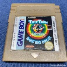 Videojuegos y Consolas: VIDEOJUEGO - NINTENDO GAME BOY - TINY TOON BABS' BIG BREAK - ESP. Lote 221565316