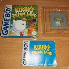 Videojuegos y Consolas: KIRBY'S DREAM LAND GAMEBOY NINTENDO GAME BOY ESP. Lote 221599377